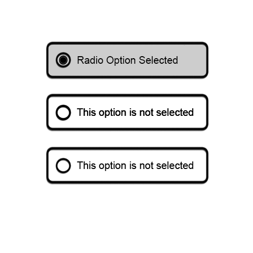 Radio button best ux design
